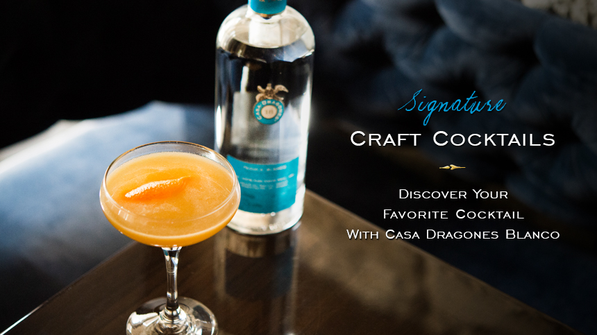 Elegant Cocktails with Tequila Casa Dragones