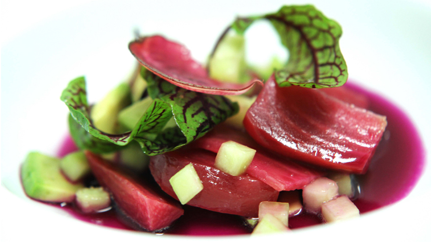 Oven Roasted and Fermented Beets