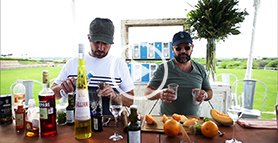 Jim Meehan and Enrique Olvera show how to mix their new tequila cocktail