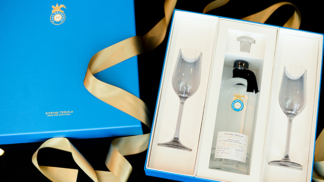 Luxury Tequila Gift Set With Glasses