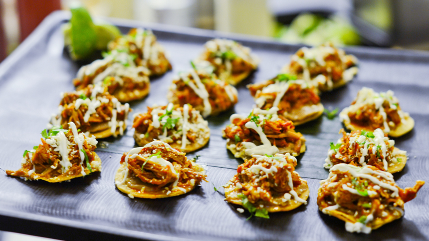 BBQ Pork Tostadas - Tequila pairing