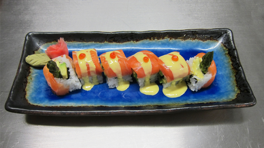 Tequila Food Pairings: California Roll Sushi