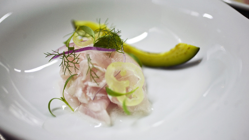 Tequila Food Pairings: Sea Bass Ceviche