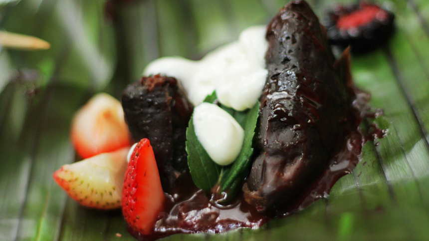tequila food pairings: Chocolate Tamale