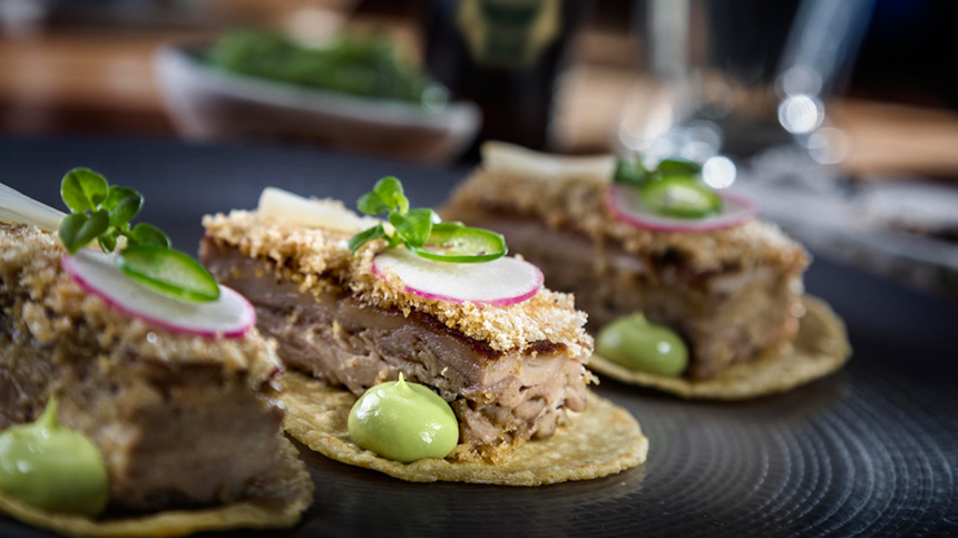 delicious tequila food pairings: pork confit