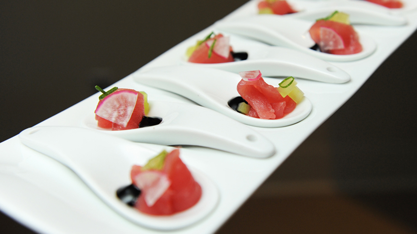 Tequila Food Pairings: Raw Tuna with Soy Sauce