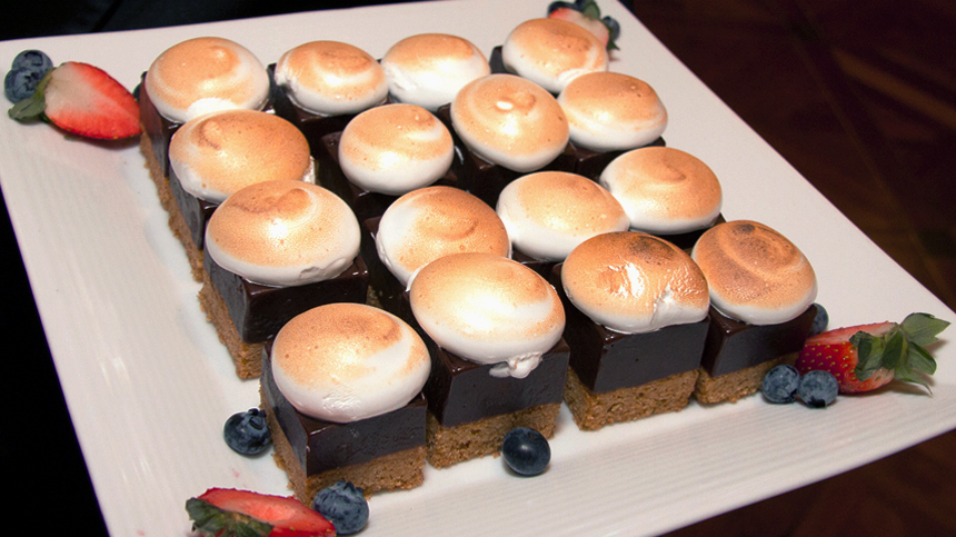 S'more Bites - Tequila food pairing
