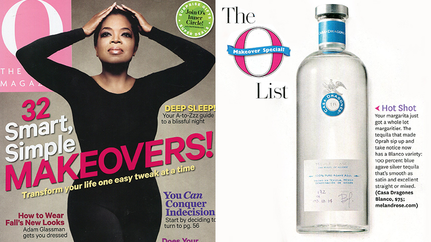 the O list, Oprah