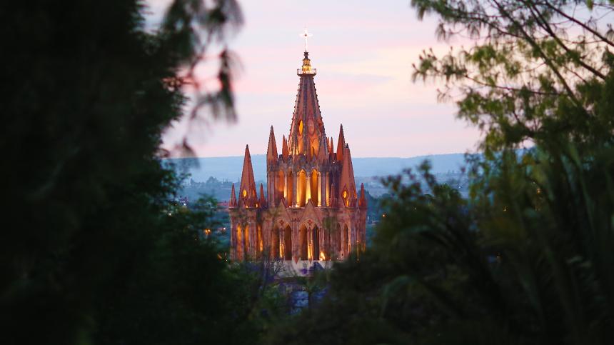 San Miguel de Allende cathedral
