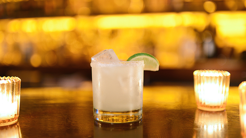 El Dragon Blanco Tequila Cocktail Made With Casa Dragones