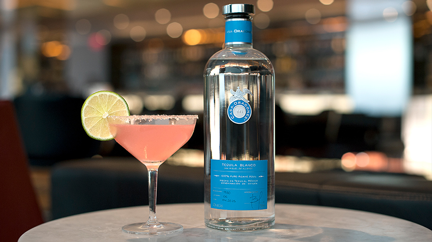 Jalisco Shrub is a unique tequila cocktail crafted by Sean Kelly for Tequila Casa Dragones