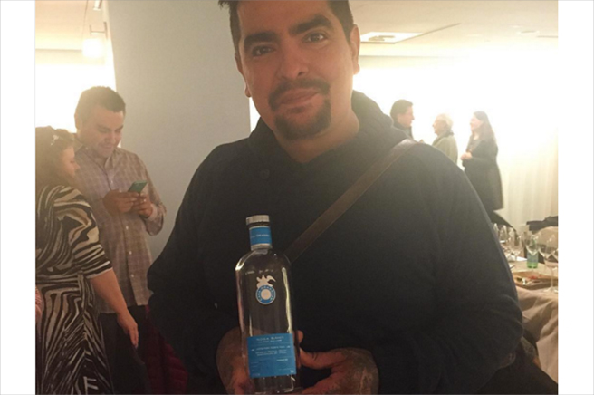 Chef Aaron Sanchez at New York City Food & Wine Festival