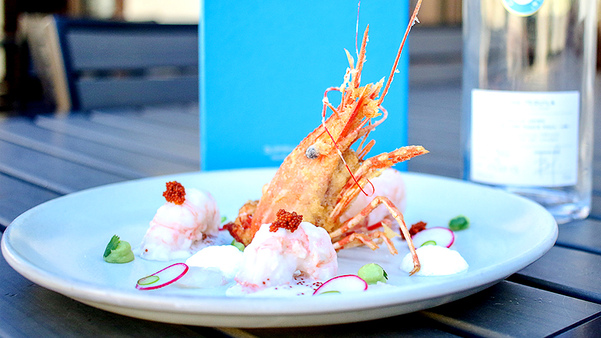 Casa Dragones_Pairing_Ceviche de Camaron
