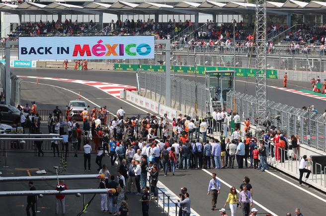 Formula 1® Roars into Mexico City