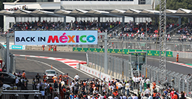 Formula 1® Roars into Mexico City
