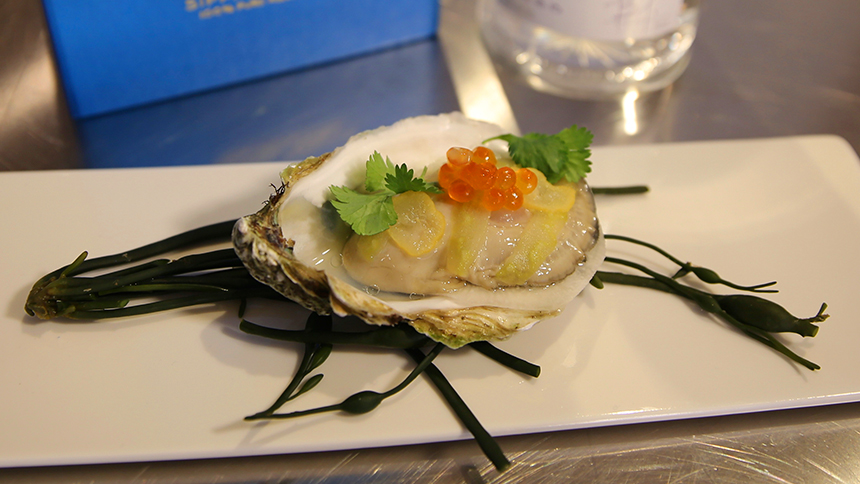 Casa Dragones_pairing_Oyster and Xoconostle