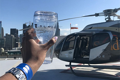 Land at Coachella in Style with Blade's Helicopter Service and Tequila Casa Dragones