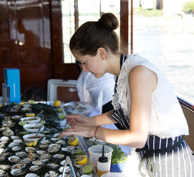 Oysters and Tequila Aboard the Freedom Yacht