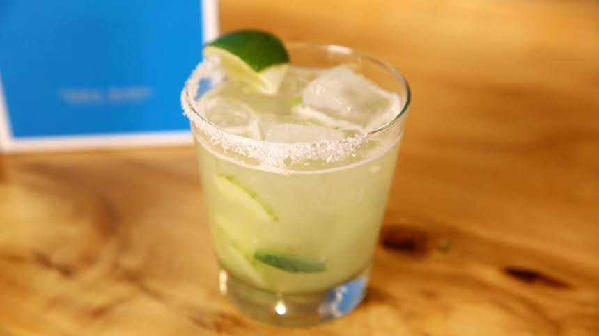Jalapeño Cucumber Margarita