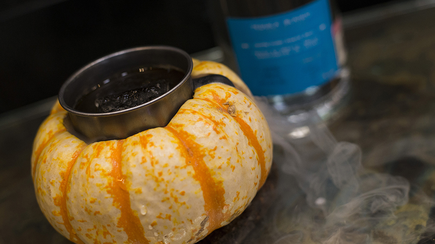 pumking tequila casa dragones cocktail