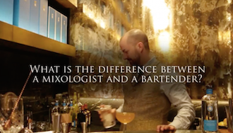 What's  the difference between a mixologist and a bartender?