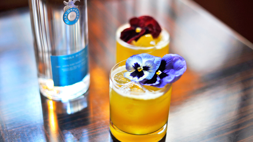 Passionista refreshing Casa Dragones summer cocktail