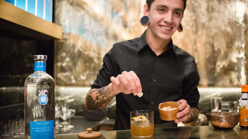 Raúl Torrecilla Bartender Residency at Casa Dragones Tasting Room
