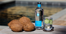 Dragones Coco coconut water cocktail