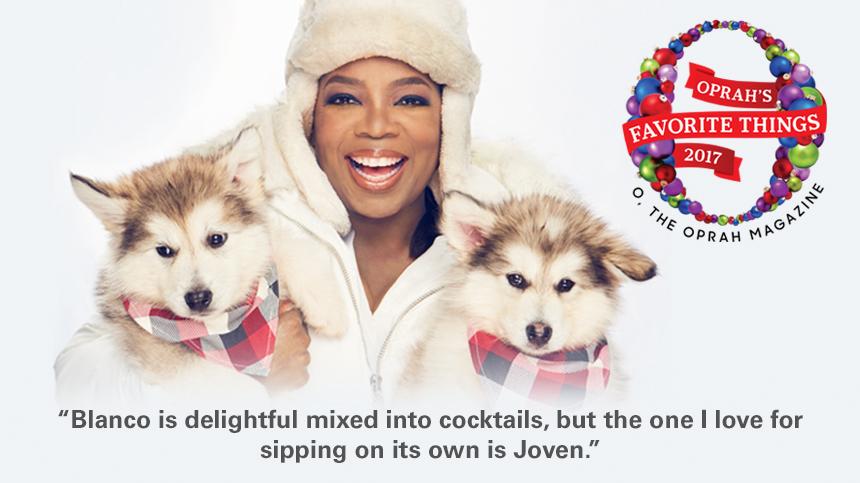 Oprah's Favorite Things 2017 Casa Dragones Blanco Joven