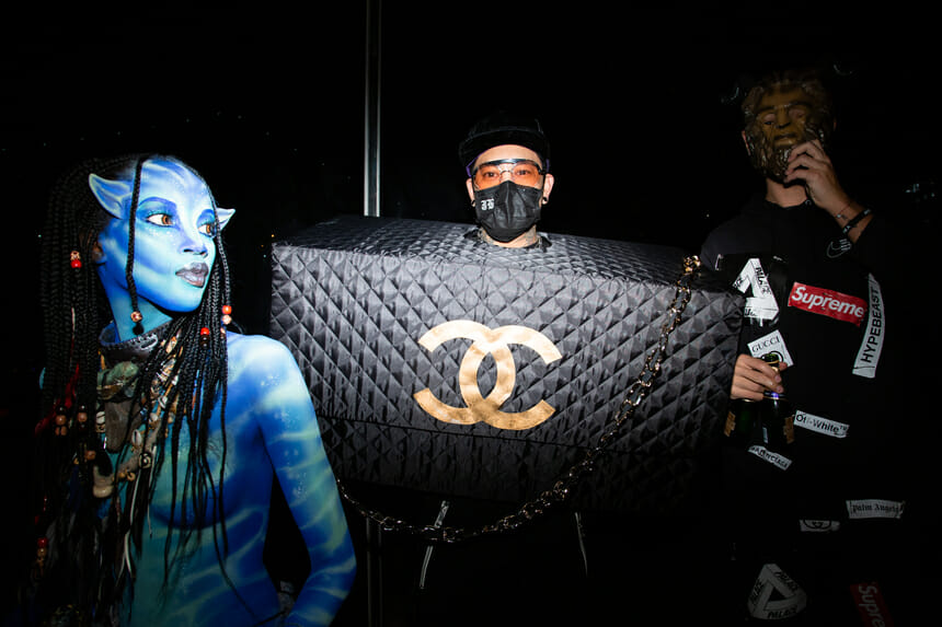 V Magazine and Chanel Halloween Party