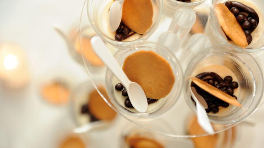 Panna Cotta de Café Espresso