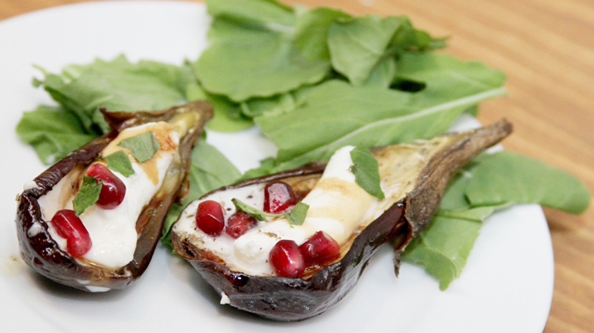 pairing_Mini Eggplants with Sheep's Cheese