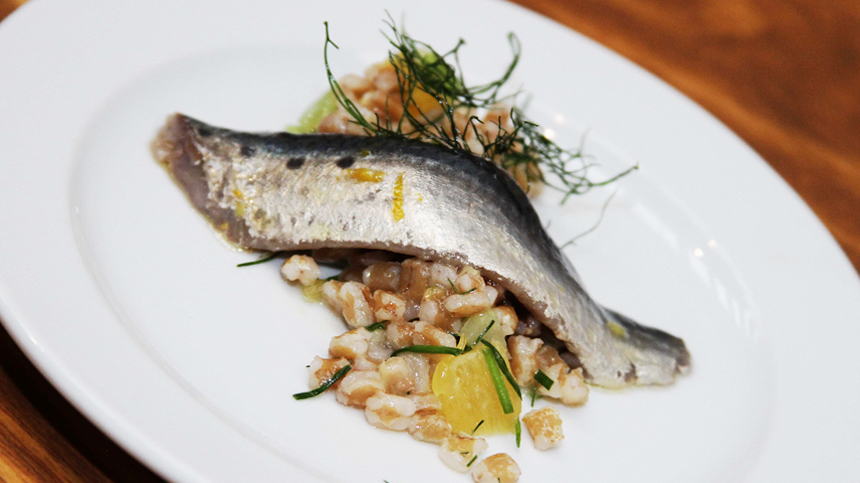 pairing_Sardines with Spelt and Orange