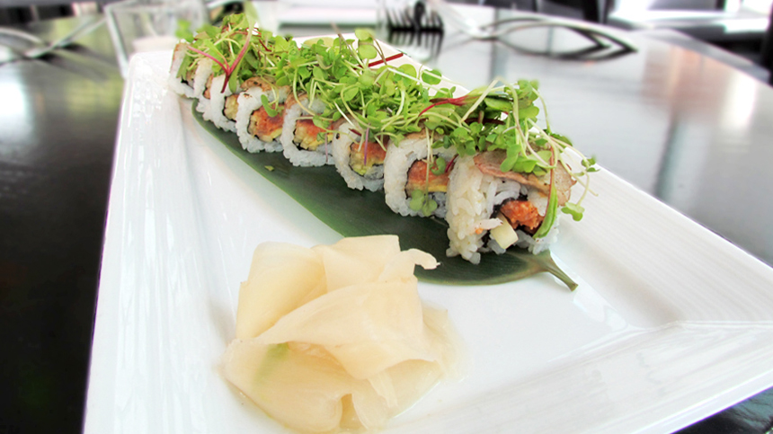 pairing_Surf and Turf Sushi Roll
