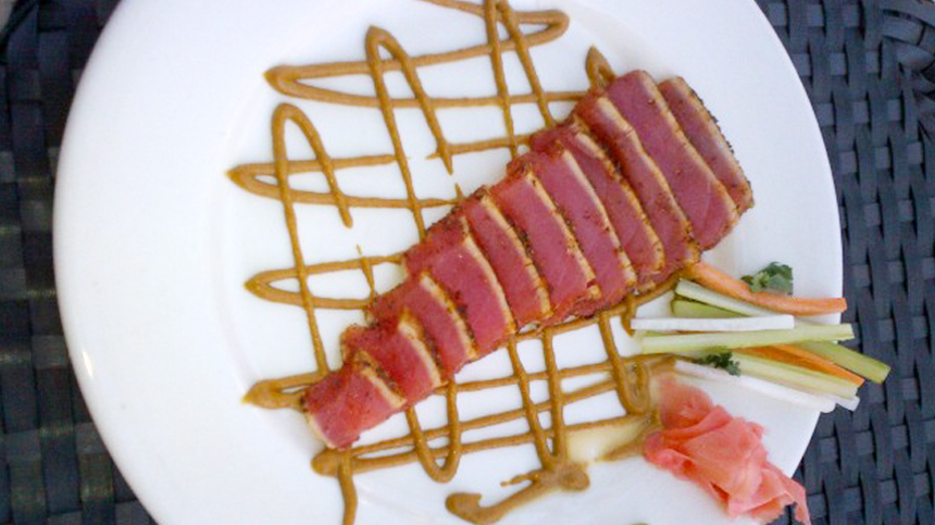 pairing_Wasabi Seared Tuna