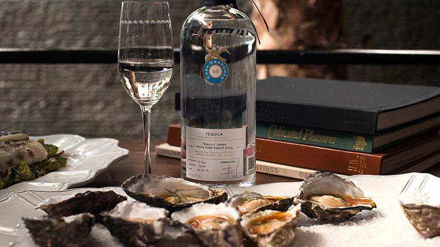 Casa Dragones_Granola Crisp Grilled Oysters