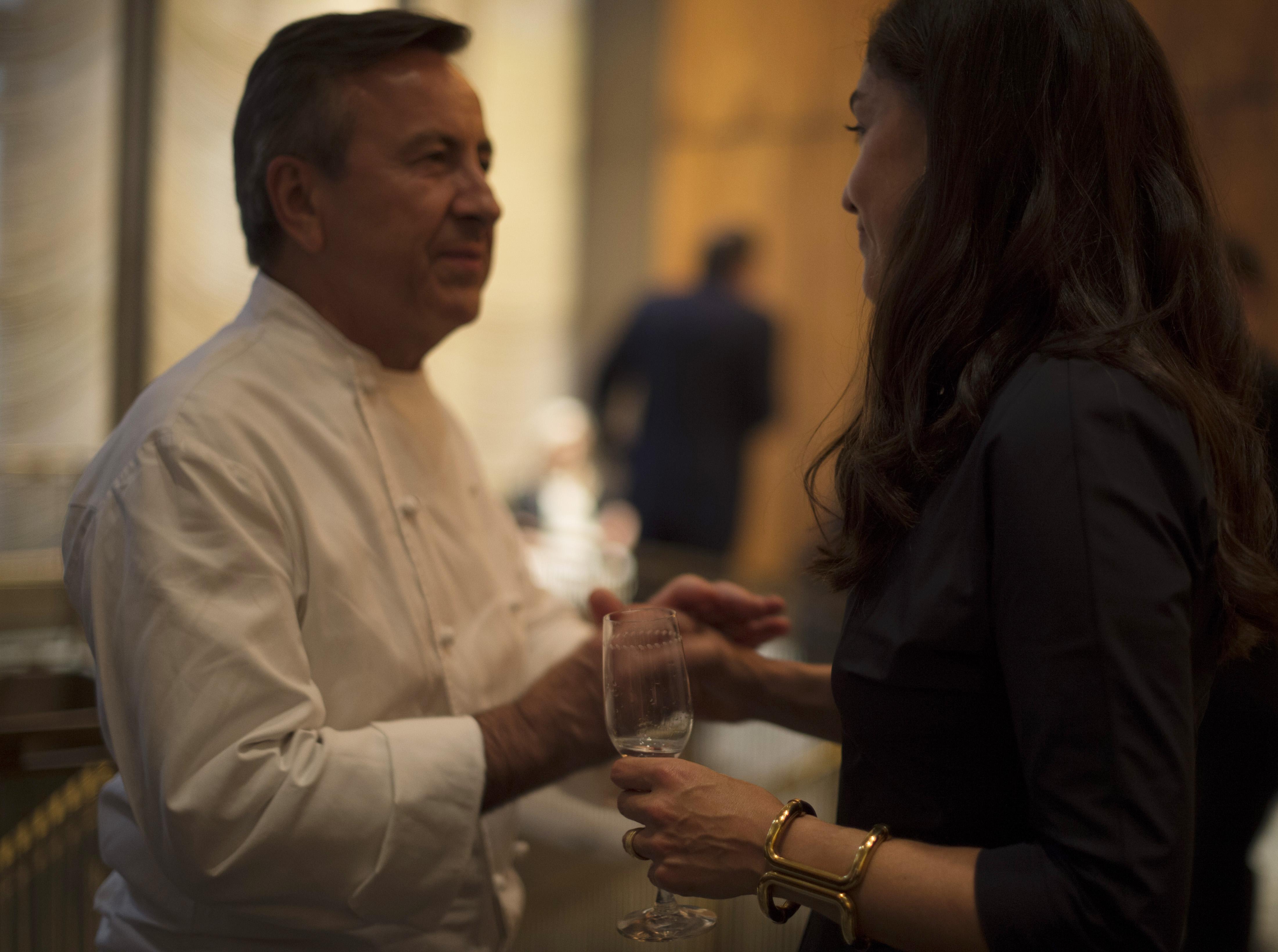 Gala y cena de beneficencia Past and Future en Four Seasons